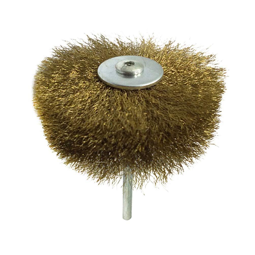 iplusmile - Juego de cepillos de alambre con revestimiento para limpiar el polvo y eliminar el polvo, pulir y pulir