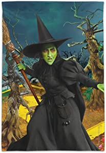 GRAPHICS & MORE Wizard of Oz Wicked Witch Character Garden Yard Flag