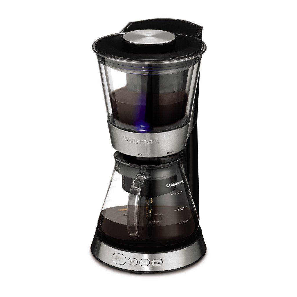 Cuisinart Dcb 10 Automatic Cold Brew Coffeemaker, Silver by Cuisinart