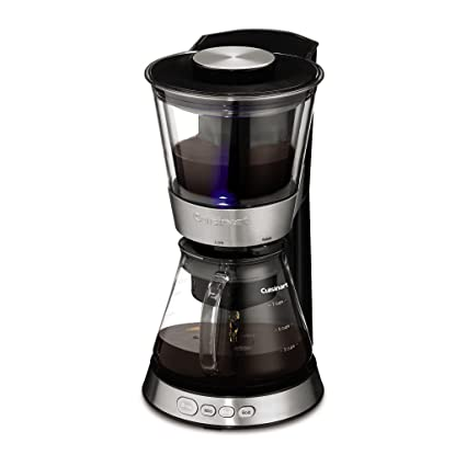 1fac9b424676 Amazon.com: Cuisinart DCB-10 Automatic Cold Brew Coffeemaker, Silver:  Kitchen & Dining