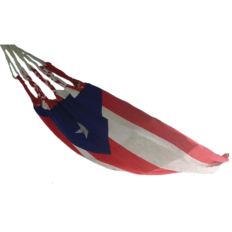 amazon     hamaca puerto rico flag   hammock     garden  u0026 outdoor  rh   amazon