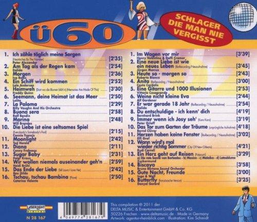 U60 Schlager Die Man Nie Vergisst Amazon Com Music