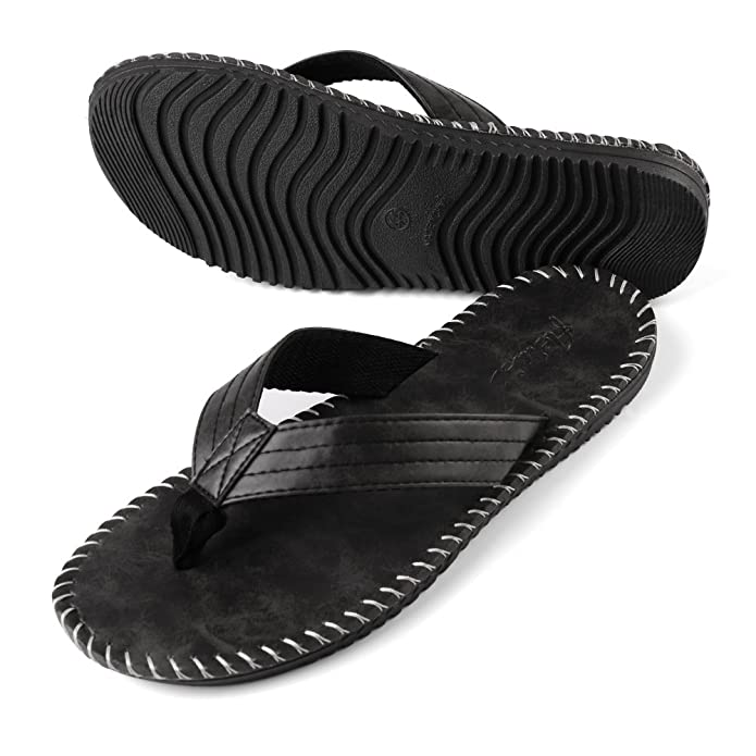 3edee48be6147c Aerusi Men s Rio Groove Indoor Outdoor Casual Walking Flip Flop Sandals   Buy Online at Low Prices in India - Amazon.in
