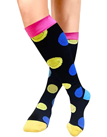 3 Pair Circulation & Recovery Compression Socks Multi Ultpeak Multi Print Size S Health & Beauty