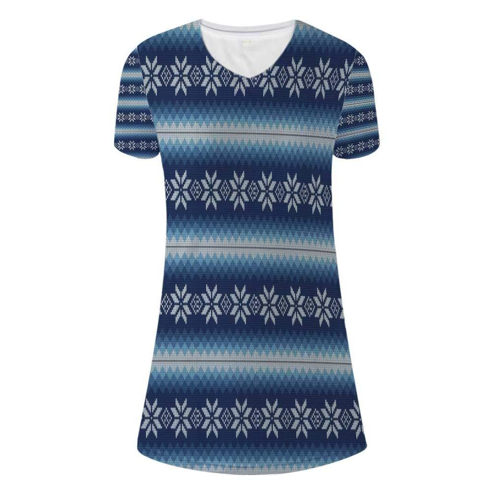 Winter Stylish V Neck Dress,for Women,M