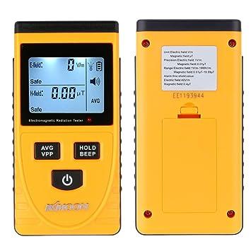Digital LCD Detector de Radiación Electromagnética Medidor Dosímetro Tester Mostrador: Amazon.es: Electrónica