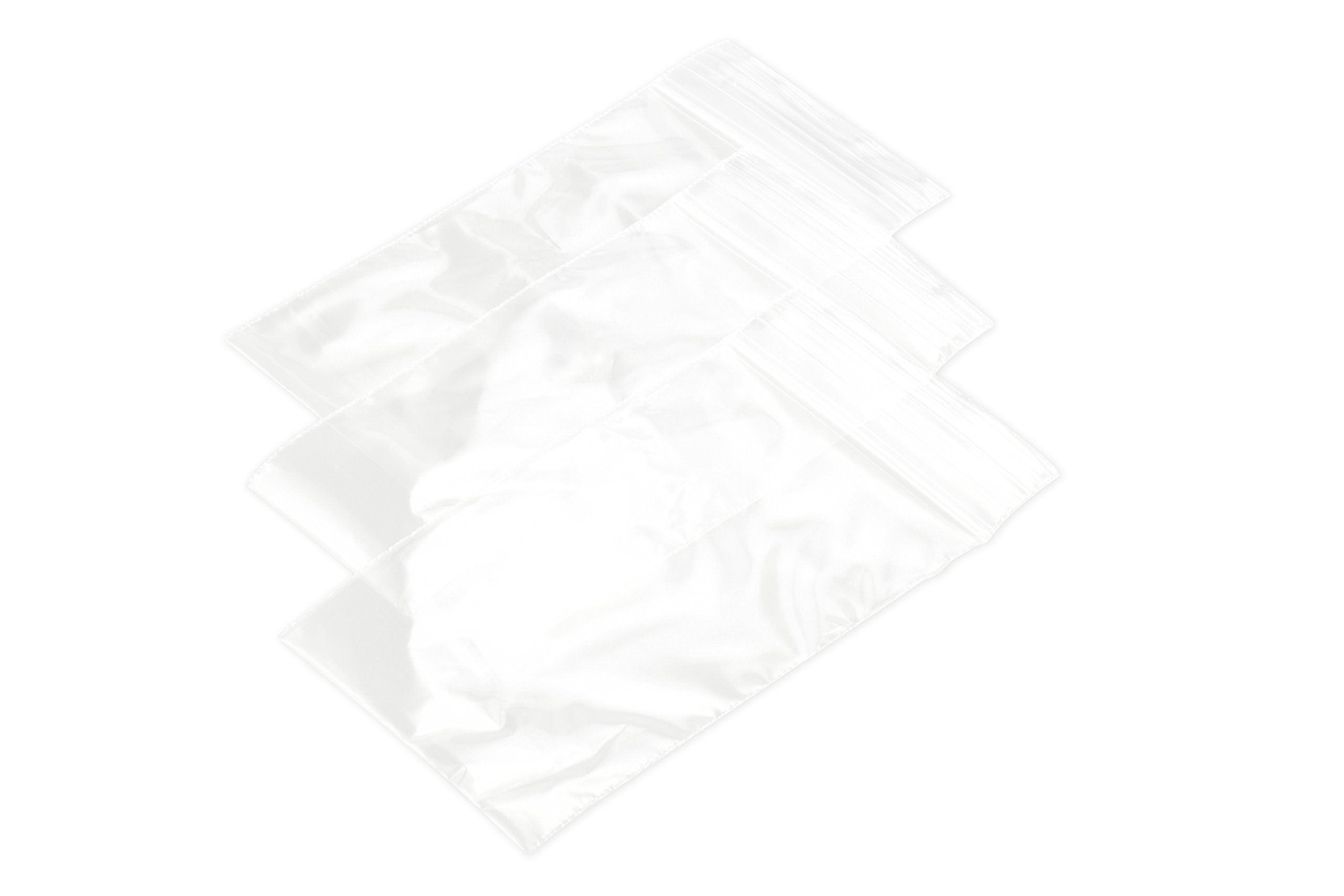 "SE 2"" x 3"" Self-Locking Bags (1000 Count) - ZB23-1K"