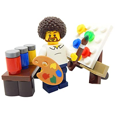 LEGO LOT OF 50 NEW LEGO PAINT BRUSH ARTIST MINIFIGURE PIECES