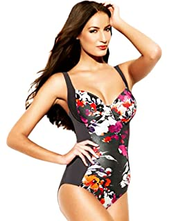 794fee70f39 Panache Women s Silhouette Shaping Underwire One-Piece Swimsuit ...