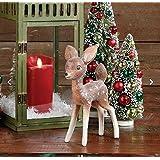 "Raz Imports 9"" Vintage Christmas Deer"
