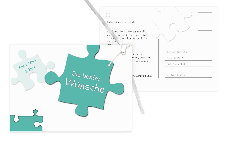 Karten-paradies Ballonkarte Puzzleteile, 90 Karten, KräftigHellMarineblau B07CQD9XFV | Deutschland Online Shop  | Verrückter Preis, Birmingham  | Gute Qualität
