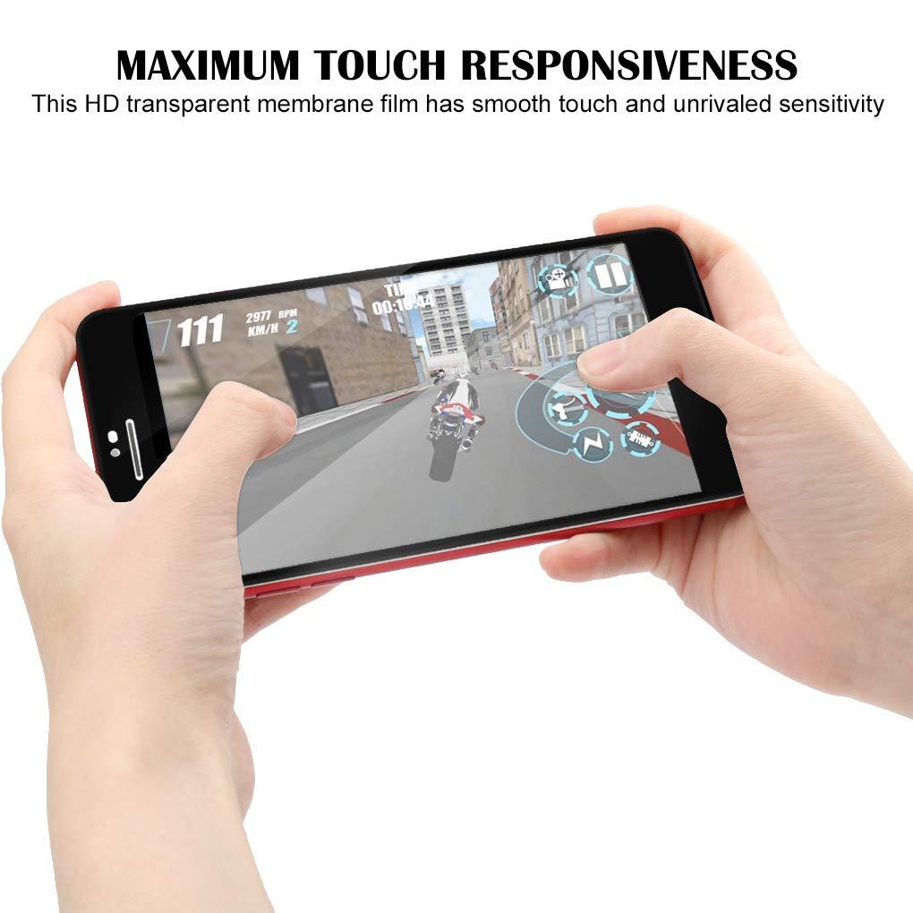7//8 Topke 1pc Remplacement pour iPhone 6 X//XS//XS Max//XR 9H Cover en Verre tremp/é Film de Protection /écran 6p 6S 8P 7P 6sp