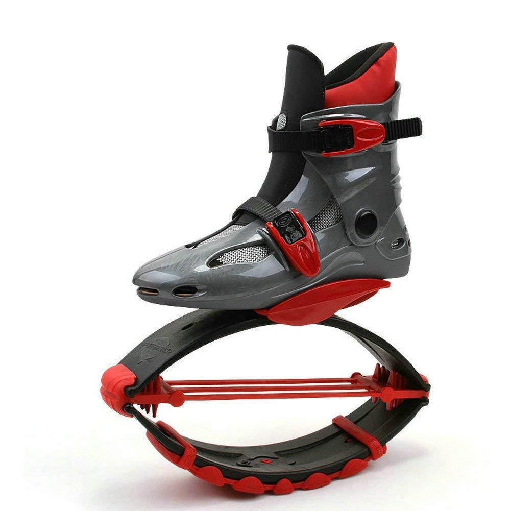 B L V.JUST Adultes Femmes Hommes Bottes De Course Anti-Gravité Bounce chaussures Filles Garçons Fitness Chaussures De Saut d'obstacles pour 44-220 LBS,B,XXL
