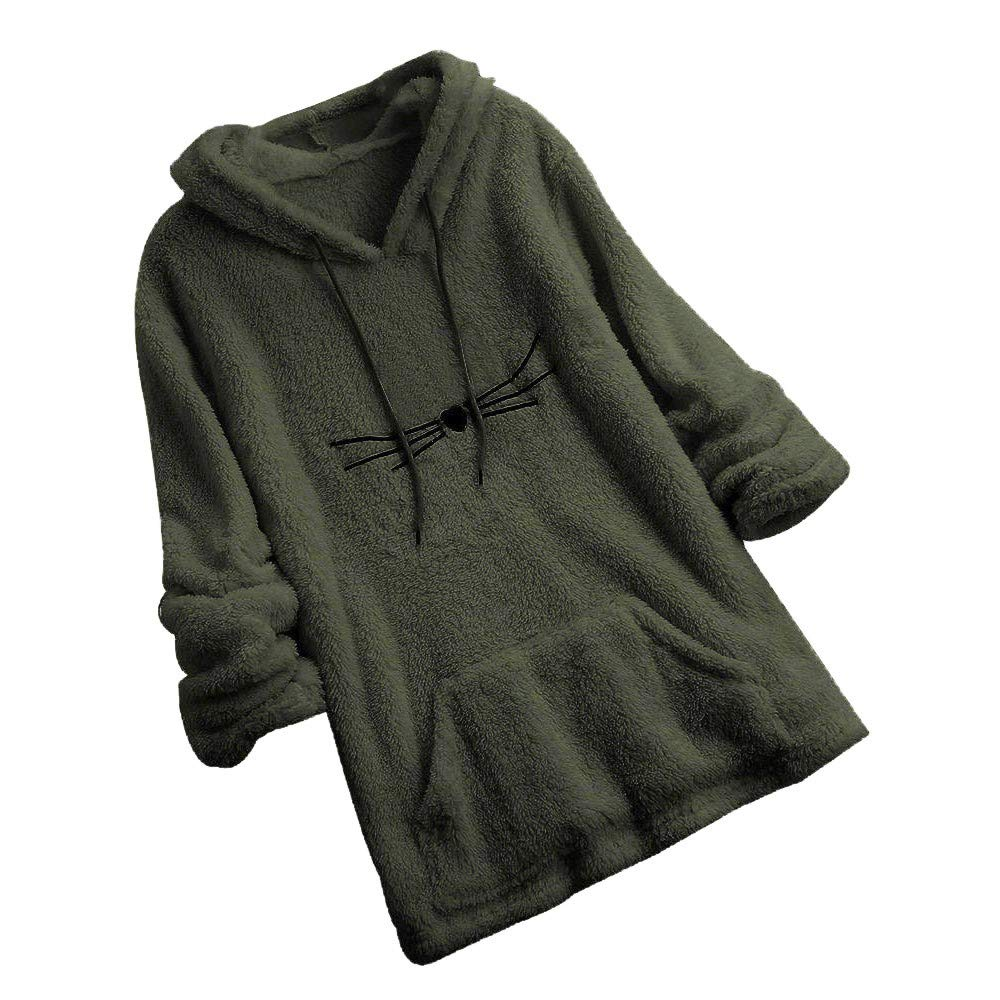 Cromoncent Mens Winter Thick Wool Lined Hoodies Contrast Color Sweatshirts