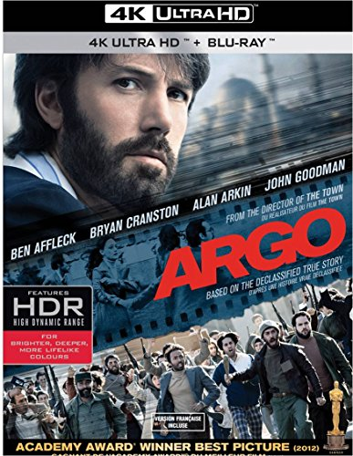 4K Blu-ray : Argo (4K Mastering, Ultraviolet Digital Copy, 2 Pack, 2 Disc)