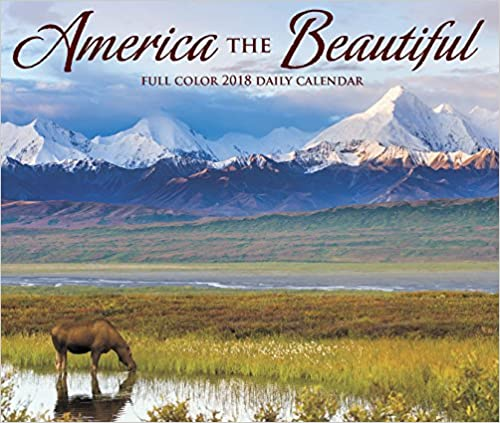 America the Beautiful 2018 Box Calendar