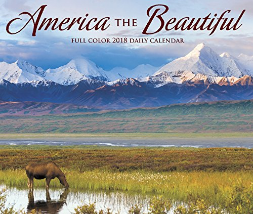 America Calendar - America the Beautiful 2018 Calendar