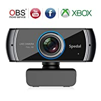 Spedal Full HD Webcam 1536p, Beauty Live Streaming Webcam Deals