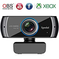 Spedal C920 Full HD 1536p Webcam for Mac OS Windows 10/8/7