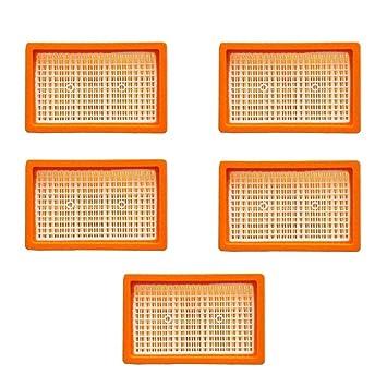 WD 4 Car Kit Flachfaltenfilter für Kärcher WD4 Mehrzwecksauger WD 4 Premium