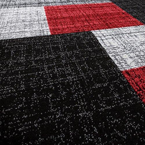 Designer Teppich Modern Kariert Kurzflor Teppich Design Meliert In Braun  Creme Phc Mon 105 Braun 60 110