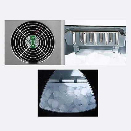 LCL Chun Li Máquina de Hielo y casera, la fabricación de 3 tamaños de máquina de Hielo Bala Escritorio 6-10min (29.7x36.7x37.8cm) Maquina de Hielo (Color : A): Amazon.es