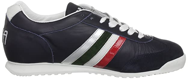 256dbaa023b80 Serafini Sport Unisex-Adult Heritage Italia Bluette Trainer 1732 10 UK, 43  EU  Amazon.co.uk  Shoes   Bags