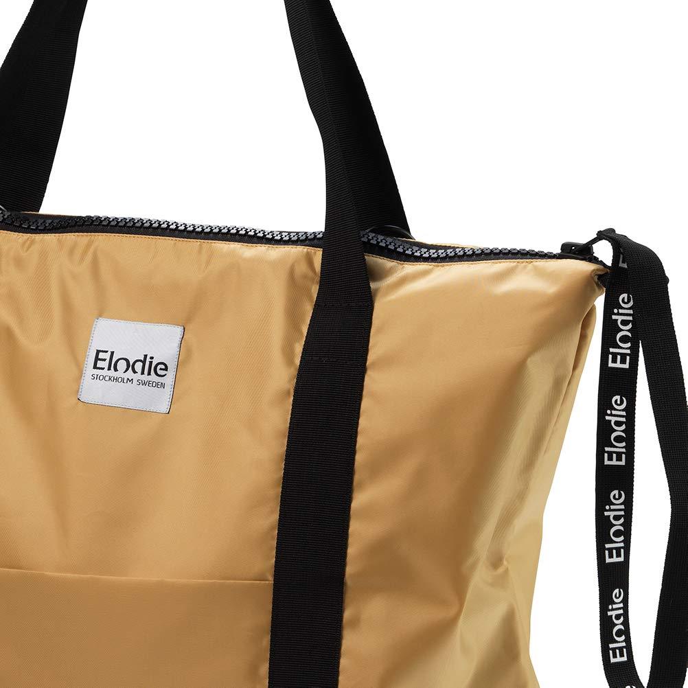 Gold Elodie Details Wickeltaschen Soft Shell mit Schnallen und Wickelunterlage
