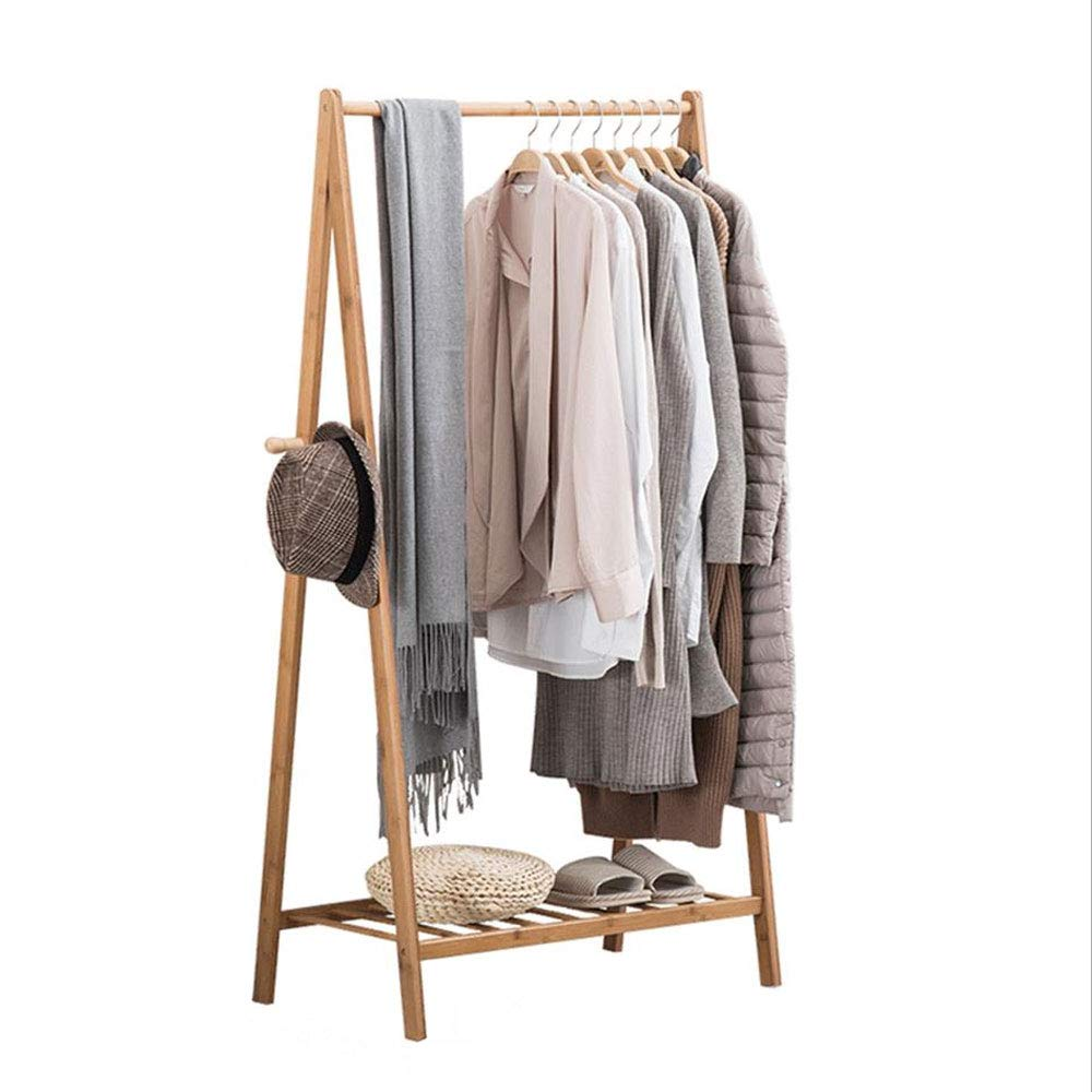 Qing MEI Kleiderbügel Boden Schlafzimmer Garderobe Hause Multifunktions-Rack Kleiderbügel Schuhgröße Optional A+ (größe   60cm)