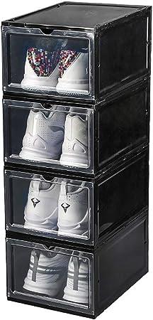 Set 4 Boite À Chaussures Transparentes Boites A Tiroir