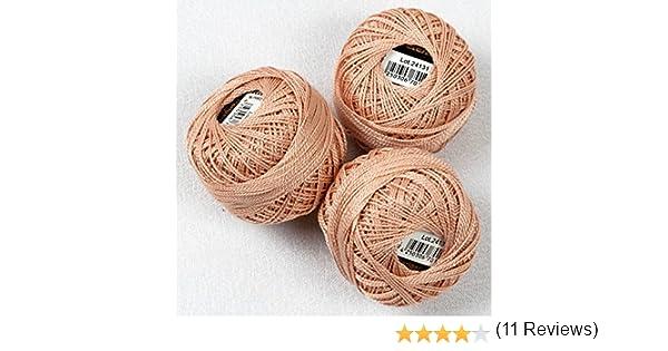 3 unidades (=3 peludo 10 g) hilo de bordar/perla hilo – 100 ...
