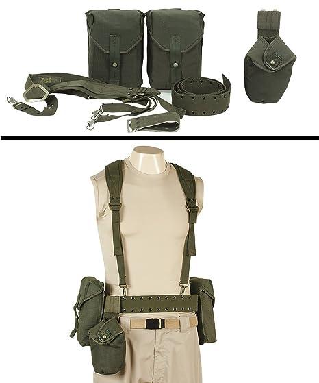 amazon com ultimate arms gear surplus swedish combat cross chest