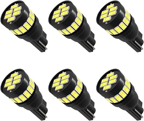 6pcs Super Bright 194 LED bulb