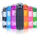 Grsta Sport Water Bottle, 400ml/500ml/700ml/1000ml - Bpa Free Plastic, with Filter, for Kid