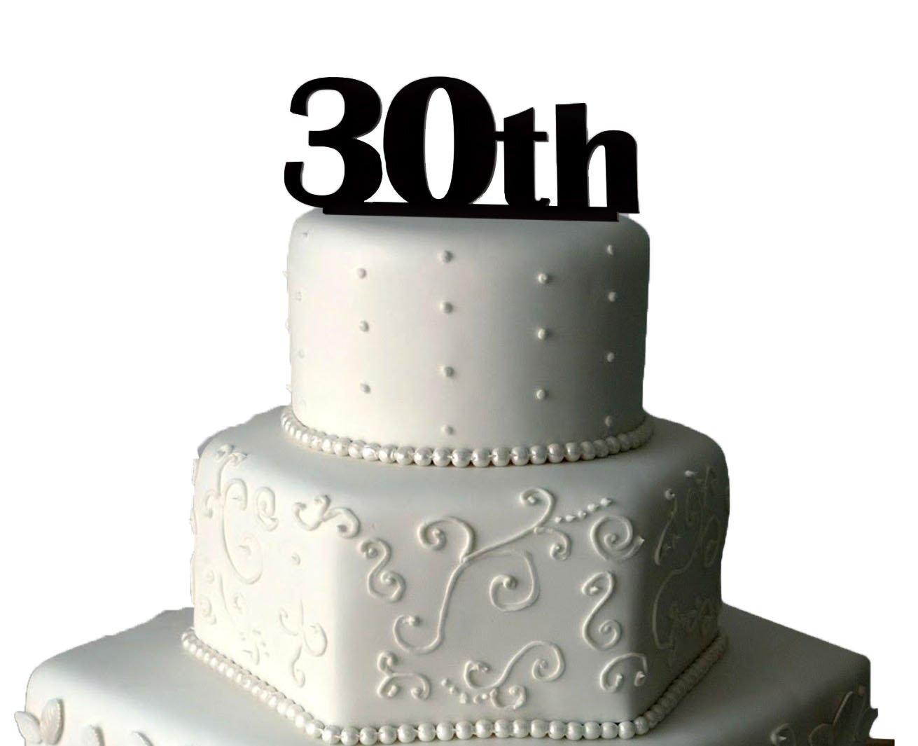 Astounding 30Th Birthday Cake Topper Unique 30Th Birthday Cake Toppers Personalised Birthday Cards Cominlily Jamesorg