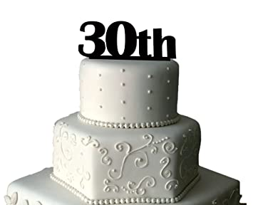 30 Geburtstag Kuchen Topper Einzigartiges Kuchendekoration 30