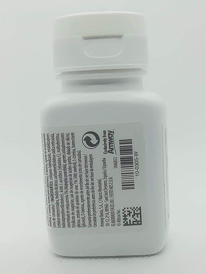 Este complemento alimenticio contiene biotina, vitamina C y colágeno.: Amazon.es: Belleza