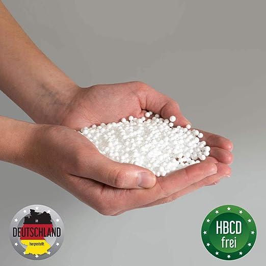 EPS Perlen Mikroperlen 150L Styopor Kügelchen Füllmaterial für Stillkissen
