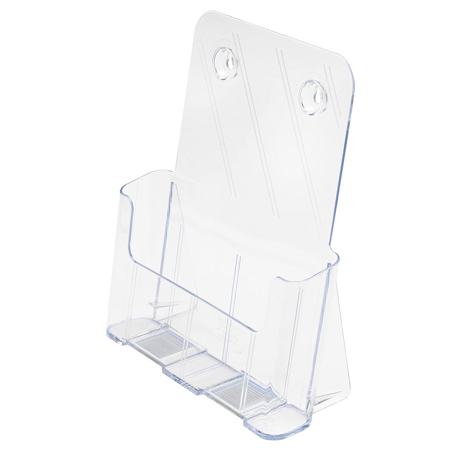 deflect-o 77301 Three-tier multi-compartment large size docuholder, 9-1/2wx8dx12-5/8h, clear DEFLECTO CORPORATION DF77301