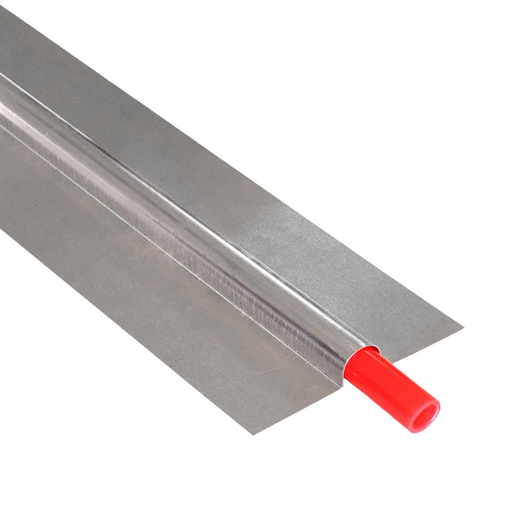 4ft long x 4'' wide, 1/2'' PEX Aluminum Heat Transfer Plates (100/box), U-Shaped, Imported by Unknown