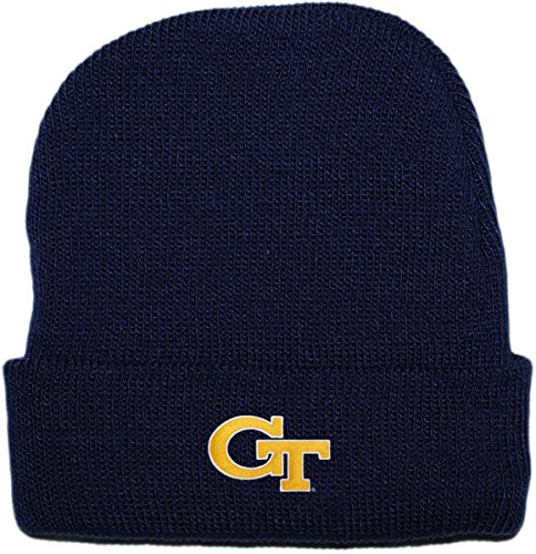 Creative Knitwear Georgia Tech Yellow Jackets Newborn Knit Cap (Georgia Tech Knit)