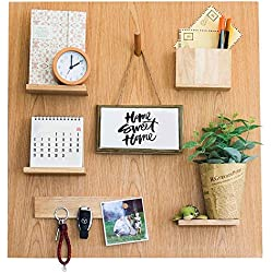 Everboards - Wooden Magnetic Organizer - Inspiring Living Room Decorating Ideas - New Convenient Pegboard - ALL ACCESSORIES INCLUDED