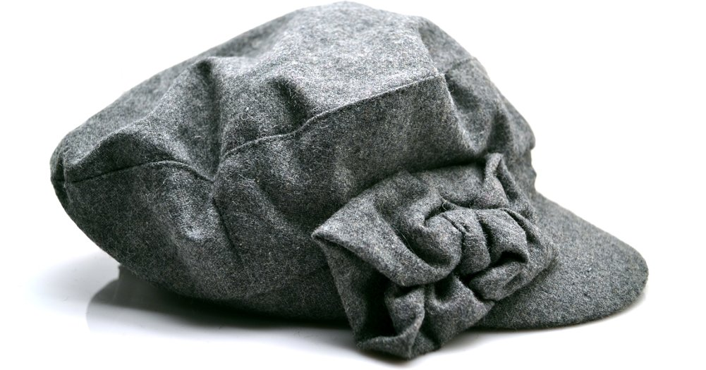 August Accessories New Beau Conductor Hat (Grey) Newsboy Caps