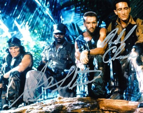 SONNY LANDHAM and RICHARD CHAVES as Billy and Poncho - Predator