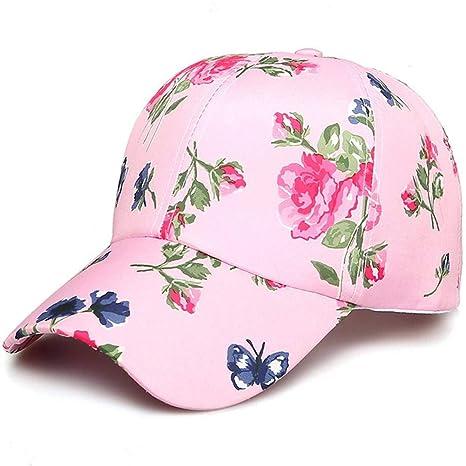 YEmaozi Gorras de béisbol Impresas Florales de algodón Ajustables ...