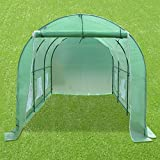 Strong Camel New Hot Green House 12'X7'X7' Larger Walk In...