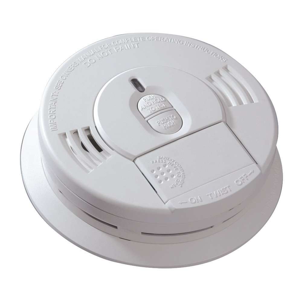Kidde 1276-9995 Hardwire Smoke Alarm with Battery Backup (6 Pack ...