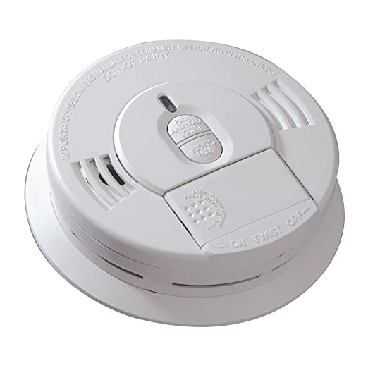 Kidde 1276-9995 Hardwire Smoke Alarm with Battery Backup (6 Pack)