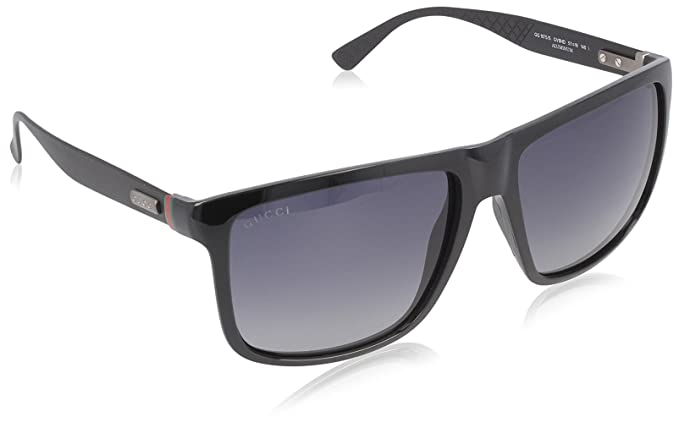 Gucci GG 1075/S GG 1075/S Gafas de sol, Wayfarer, 57, Shiny ...