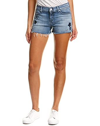 2bf929c87a4 Image Unavailable. Image not available for. Color: Hudson Jeans Women's  Kali Cut-Off Jean Shorts ...
